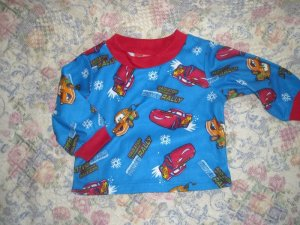 Boys Disney Cars Pajamas 12M