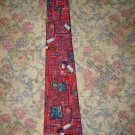 Smithsonian Institution Circuit Board Silk Tie Necktie