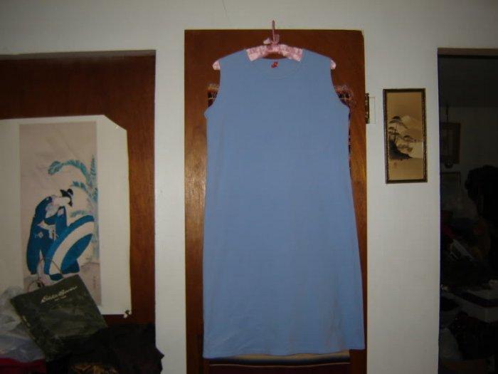 Womens Hanna Andersson Lets Go Tank Dress Capri Blue M