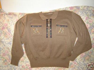 Womens Lee Poaumal Original Design Sweater Japanese S M