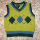 Girls Limited Too Argyle Angora Sweater Vest S 10