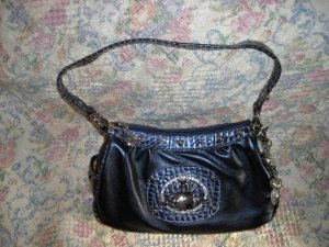 Kathy Van Zeeland Classy Purple Bag Purse