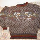 Womens Bogner Rooster Wool Mohair Sweater XL 14 Unworn