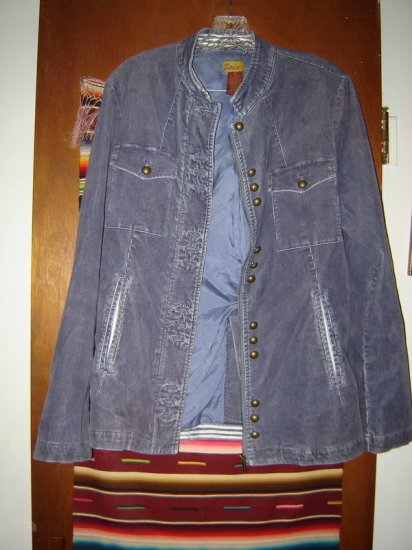 Womens Louie Corduroy Jacket 10 Lots of Buttons