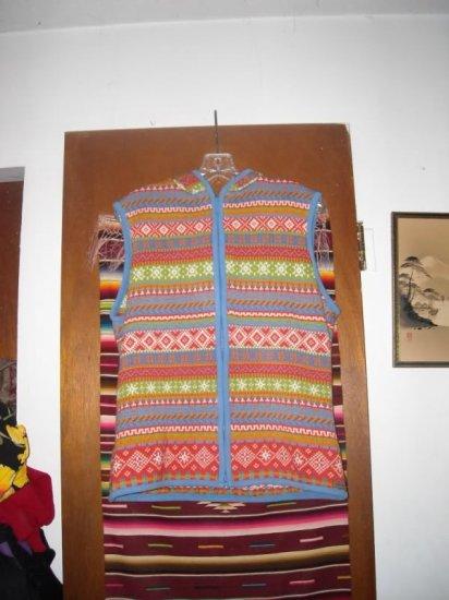 Womens Kootenay Canada Knit Hooded Zippered Vest L