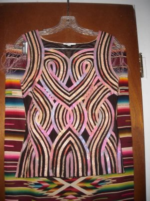 Womens Alexandra Rosati Sleeveless Shirt 6