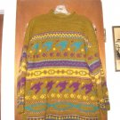 Womens Angelheart Designs Wool Sweater L