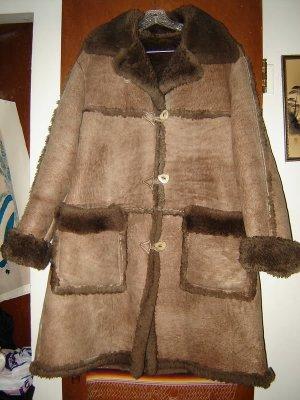 Womens Overland Sheepskin Company Shearling Coat S