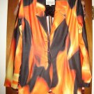 Womens Todd Oldham Colorful Jacket Blazer M