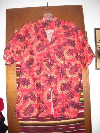 Mens Vintage Hafa-Adia Imperial Hawaiian Shirt