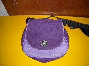 Crumpler Purple Aggott Bag Cross Body