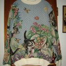 Womens Sugar Street Weavers Cat Top Shirt One Size