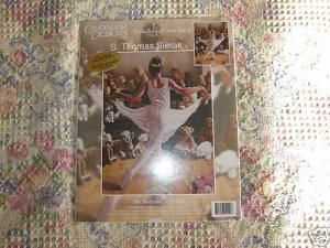 The Audition Dance Ballerina Embellished Cross-Stitch