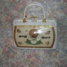 Vintage Seashell Window Bag Purse