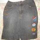 Boys 18 Platinum Fubu Harlem Globetrotters Long Shorts