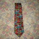 Mens Paul Frederick Wrapped Candy Candies Silk Tie