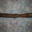 American Eagle Outfitters Brown Studded Western Belt M