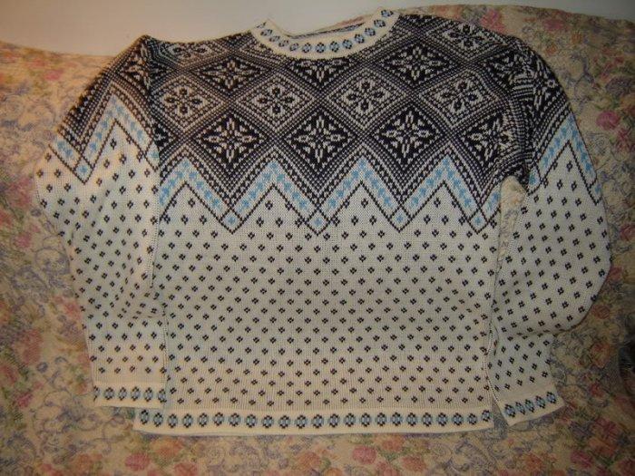 Mens Hanna Andersson Cotton Sweater M Medium