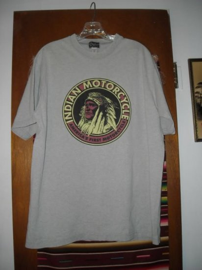 Indian Motorcycle T Shirt Springfield MA M