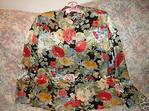 Carole Little Asian Floral Silk Blouse 14 L Unworn