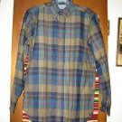 Mens Pendleton Wool Shirt S Small Earth Tones