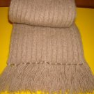 Polo Ralph Lauren Camel Hair Cable Knit Scarf
