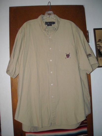 Mens Ralph Lauren Golf Crest PGA West Shirt XL