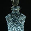 Vintage Lead Crystal Cut Glass Perfume Bottle