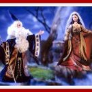 MERLIN & MORGAN LE FAY - BARBIE & KEN GIFT SET - MIB