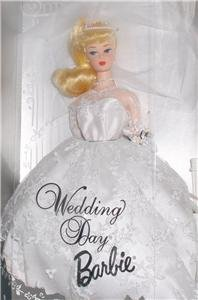 WEDDING DAY BLONDE BARBIE DOLL #17118 *MIB NRFB VINTAGE REPRODUCTION  GOWN # 972