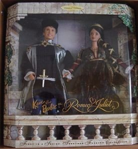 1997 KEN  & BARBIE  2 Doll Set  AS ROMEO & JULIET Together Forever Series MNRFB