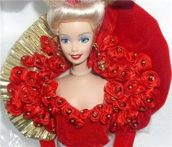 RARE Mattel 50TH GOLDEN ANNIVERSARY PORCELAIN BARBIE