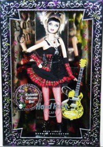 Barbie 2008 Hard Rock Cafe Barbie with Exclusive Pin