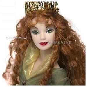 BARBIE LEGENDS OF IRELAND FAERIE QUEEN NEW Doll RARE