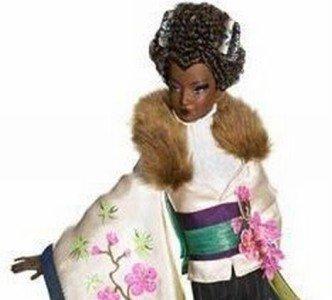 Byron Lars 1st in PASSPORT Series AYAKO JONES Barbie !!