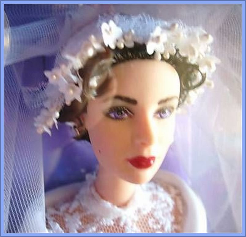 Rare FATHER OF THE BRIDE Elizabeth Taylor CELEBRITY Barbie Doll * LIZ * SEALED