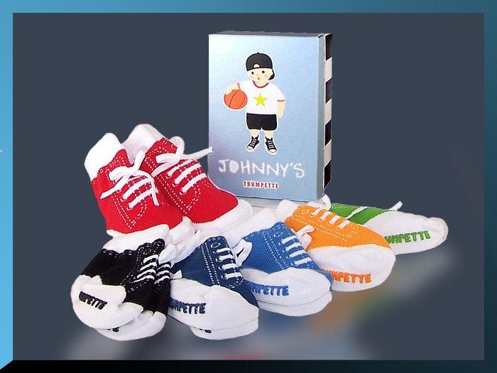 TRUMPETTE Johnny's SNEAKER SOCKS 0-12 mths BABY