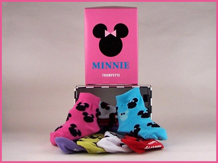 Disney by Trumpette Minnie Socks