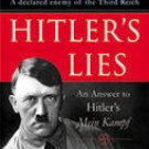 HITLER'S LIES by Irene Harand an answer to MEIN KAMPF 9788184950700