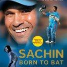 SACHIN : BORN TO BAT by Khalid A-H Ansari Book intro by Sachin Tendulkar 70 rara photos