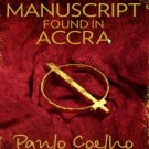 Manuscript Found in Accra by Paulo Coelho New Book PAPERBACK