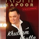 Khullam Khulla : Rishi Kapoor Uncensored NEW BOOK by Rishi Kapoor 9789352643028