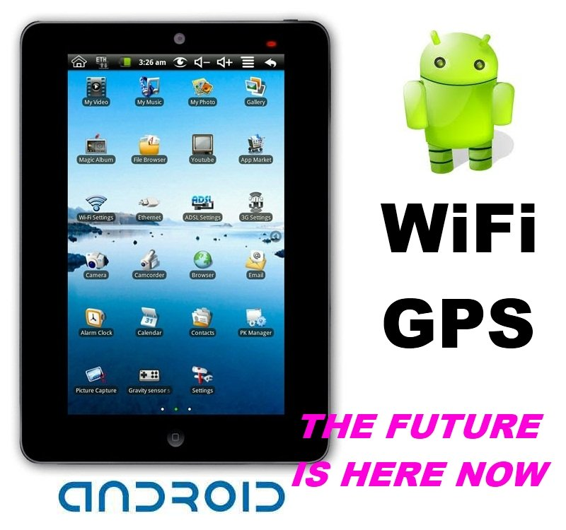 "7"" ePad Google Android 2.2 WiFi 3G UMPC MID Tablet PC A-pad MP3 MP4 Mp5 Player"