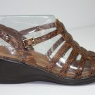 Easy Spirit LEXA Sandals BROWN Shoes US 7.5 $49.99