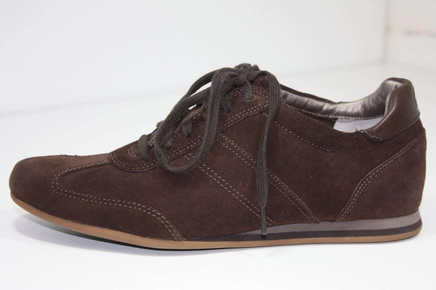 Cole-Haan Air Rianna Sneakers Dark Brown Shoes US 6.5