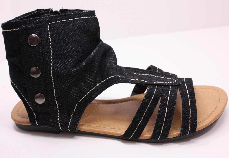 New Style Sandals Thongs Boots Flats Denim & Colors