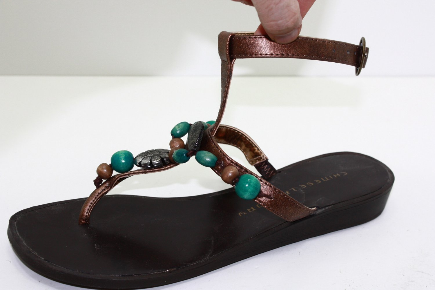 CHINESE LAUNDRY MALINI Sandals RUSTCOPPER Shoes US 6.5