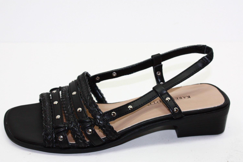 KAREN SCOTT ASTON Sandals BLACK Shoes US 7 $49
