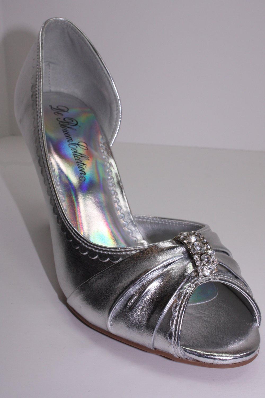 New Wedding High Heel Open Toe Diamond 5~10 Colors