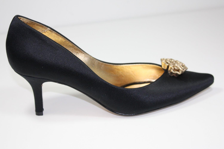 Ragazza Bronze Pumps Black Shoes US 8.5 $139